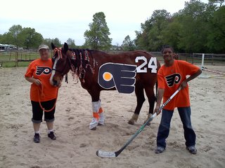 'Horsin Around' with 'Flyers' Pride !!