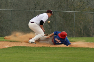 Sliding Into Third