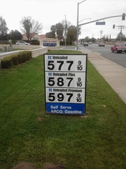 Crazy Gas Station Price in CA