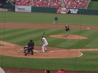 Brewers vs. Cardinals in St. Louis