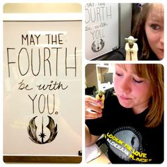 May the 4th– Cubicle style