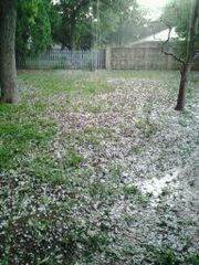 Hail in Texas
