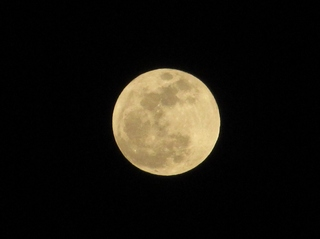 Super Moon from Yuma