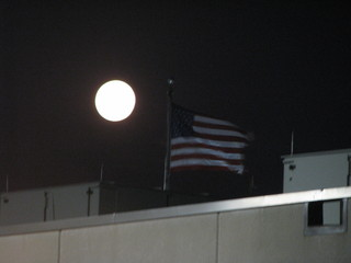 Early Morning Supermoon