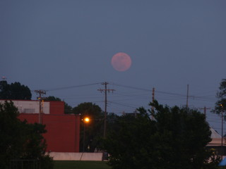 Super Moon over G.A.C. Tournament