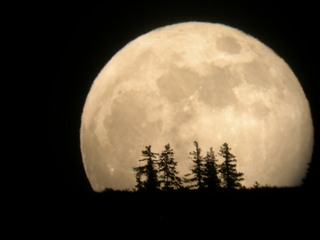 Supermoon 2012 Entiat Washington, Tim McCord