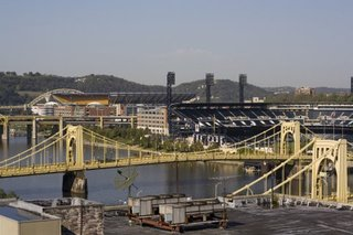 Rivers and Stadia of Pittsburgh