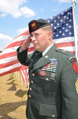 US Army Special Forces Sgt Greg Stube