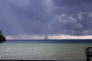 Destin, FL Waterspout