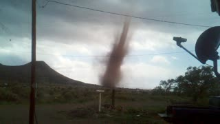 Tornado in Magdalena, NM