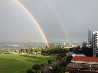 Double Rainbows 14-May-2012
