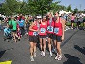 Nashville Half Marathon with Best Friends