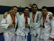 The BJJ team all brought back medals!