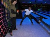 Bowling to celebrate the BJJ Competition