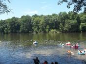 Fun Family Tubing Adventure in Bucks County River