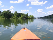 Kayaking on Marsh Creek Park