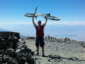 Mountain biking a 14er! (White Mountain)
