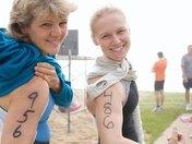 First Triathlon Ever...With my mom...