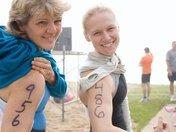 First Triathlon Ever...With my mom...