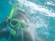 Snorkeling in the BVI