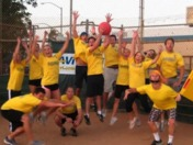 Kickball Victory!
