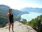Hiking the Stawamus Chief