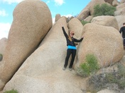 Hiking Joshua Tree