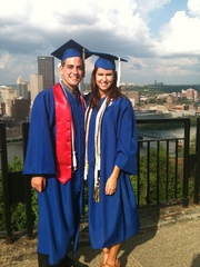 Jeff and Christie Graduate from Duquesne University, Pittsburgh, PA!