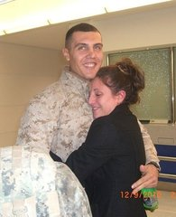 My brother the marine:)