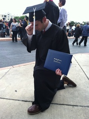 Jared Selman: 2012 Graduation Pic