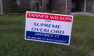 Political Campaign Sign Fail