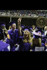 Texas Christian University graduation