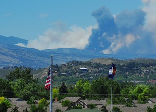 Massive Wild Fire Destroys Over 200 Acres in Larimer County Colorado