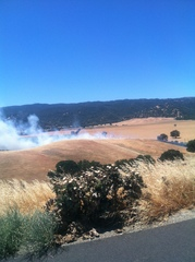 Cache creek fire