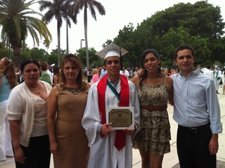 Grad pic, class of 2012 coral reef high school