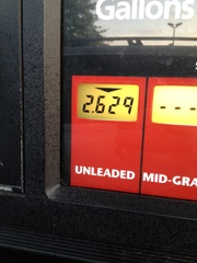 Gas for $2.62 in Atlanta