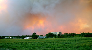 Northern CO wildfire