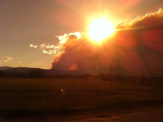 Wildfire Near Ft. Collins, CO