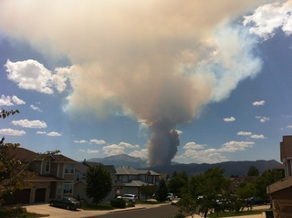 Closest wildfire to Colorado Springs