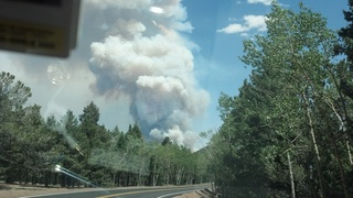 Waldo canyon fire colorado springs co