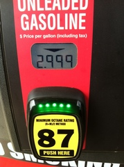 Yeah!  Bought gas below $3