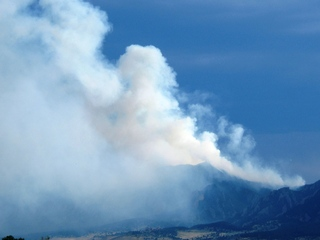 Flagstaff fire -- Boulder, Colorado