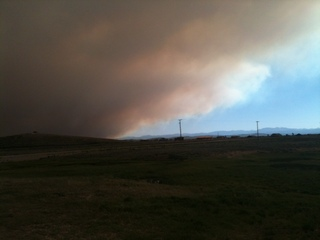 Wyoming wildfire
