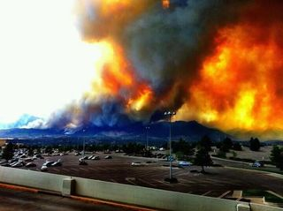 Fires in Colorado springs