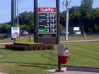Gas Falls Below $3...