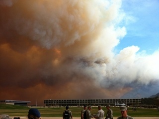 Colorado Springs Wildfire Photos