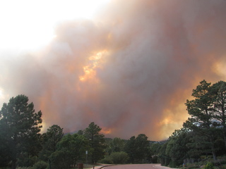 Colorado Springs wildfire