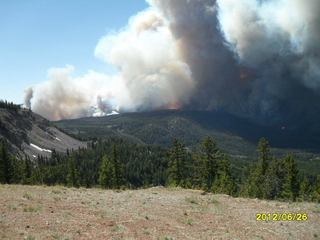 Fontenelle fire/Big Piney, Wyoming