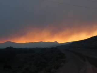 The Bridger Is Burning