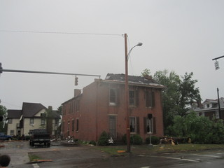 Rare Tornado in Cambridge, OH
